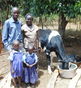Eliud and his family